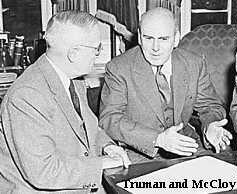 Truman and McCloy